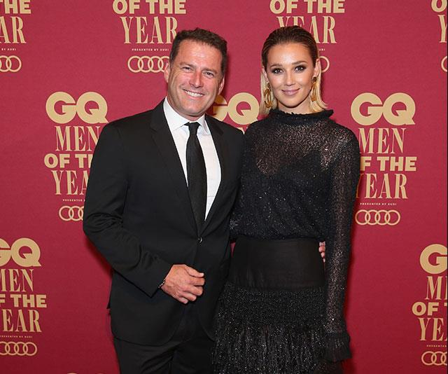 The pair had a commitment ceremony in Sydney's Palm Beach in March.*(Image: Getty)*
