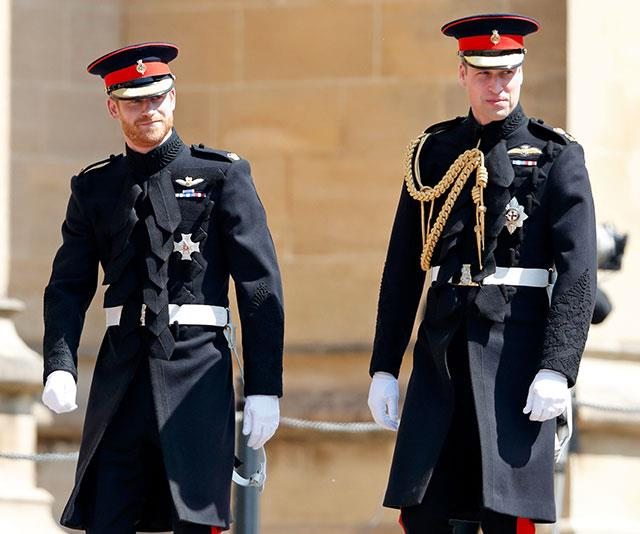 Harry and William appear to be going their separate ways. *(Image: Getty)*