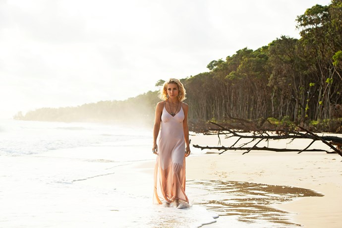 Elsa dazzles as Adrielle in *Tidelands.*