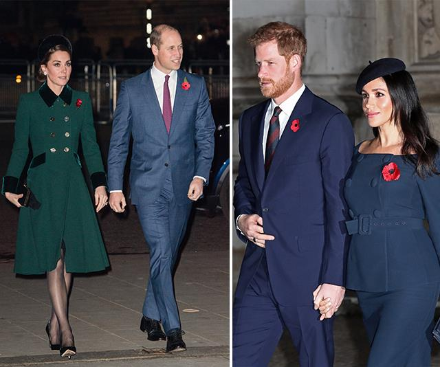 Harry is no longer the third wheel to William and Kate. *(Images: Getty Images)*