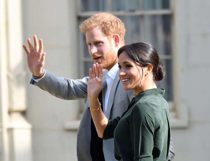 The Duke and Duchess of Sussex, Prince Harry and Meghan Markle are expecting their first child in April. *(Source: Getty Images)*