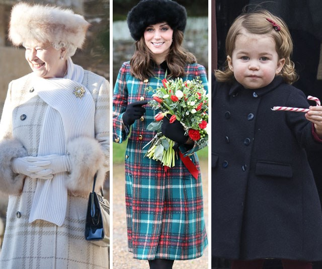 It's a very royal Christmas as The Queen, Duchess Catherine and Princess Charlotte embrace the holiday spirit.