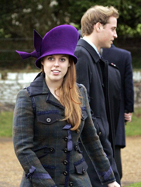 2006's celebrations saw Beatrice in an eye-catching purple number.