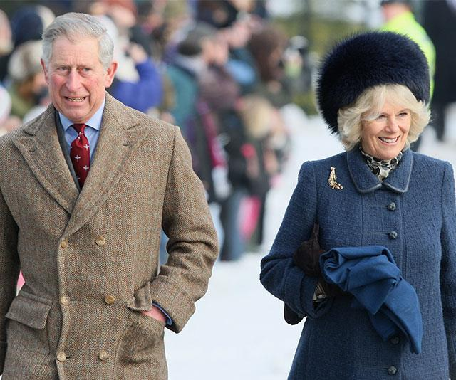 Prince Charles with wife Duchess Camilla in 2016.