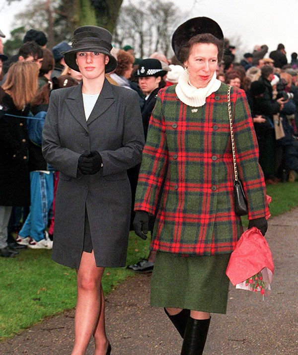 Mother-daughter duo Zara Tindall and Princess Anne.
