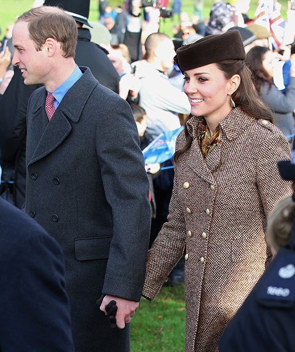 It's always a treat to see these royal love birds in action, especially when they're holding hands!