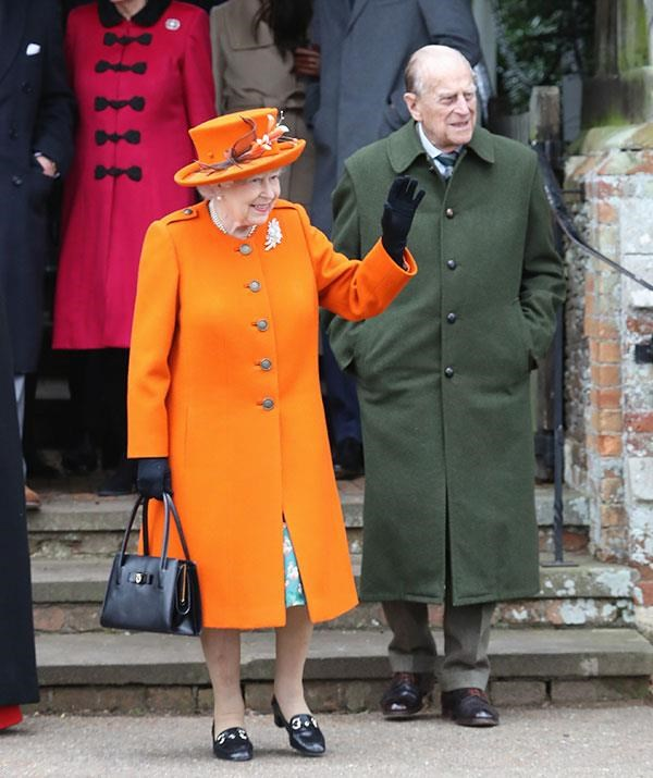 The true stars of Christmas, Queen Elizabeth and Prince Philip in 2017.