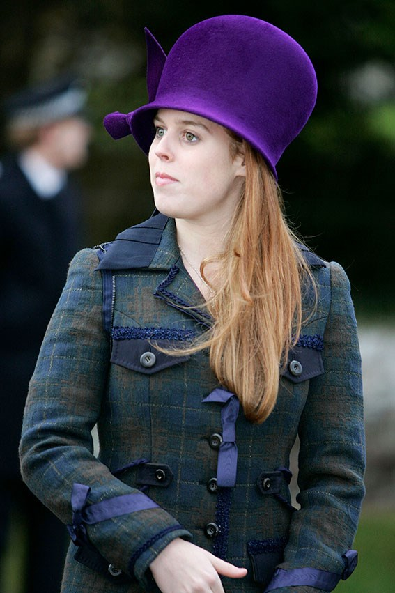 The higher the hat, the closer to god - right, Princess Beatrice?