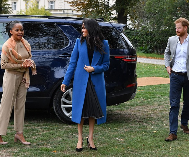 It is widely believed Harry and Meghan's new home will have space especially for Doria who will stay with the couple for long periods of time. *(Image: Getty)*