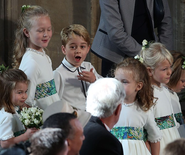 Prince George and Princess Charlotte will no doubt get up to their usual mischief this Christmas! *(Image: Getty)*