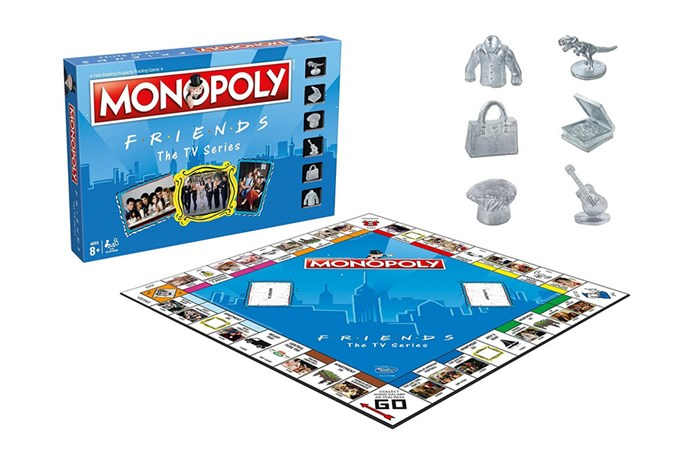 """A guaranteed hit, the *Friends* version of Monopoly will have everyone laughing and reminiscing. A great gift for a girlfriend, you can play as Phoebe's guitar, Chandler's sweater vest or Ross' dinosaur. PIVOT around the board reliving the best moments from your favourite show.  <br><br> [Monopoly *Friends* edition](https://www.bigw.com.au/product/monopoly-friends-edition/p/699948/