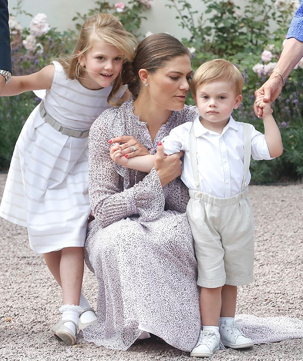 The Swedish royals will likely be wrapping up for a white Christmas this year! *(Image: Getty)*