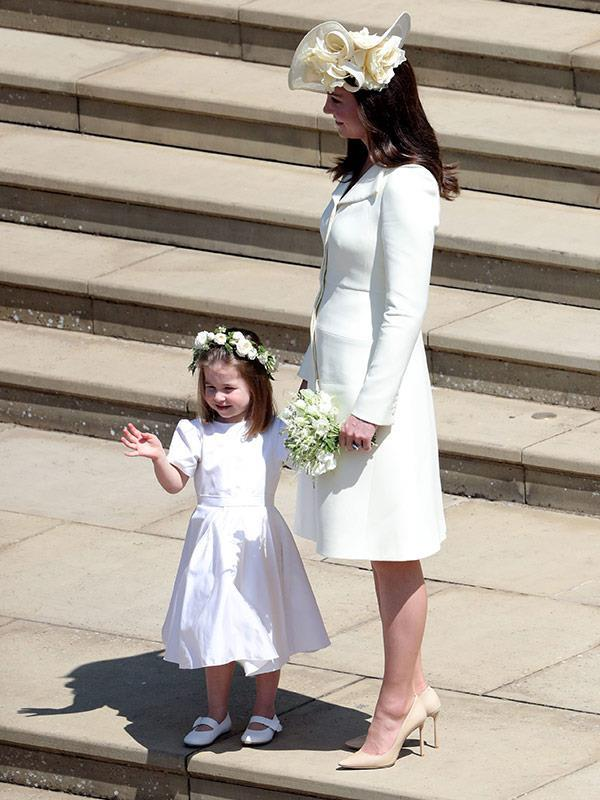 Kate reportedly was in tears after Princess Charlotte's dress fitting. *(Image: Getty)*