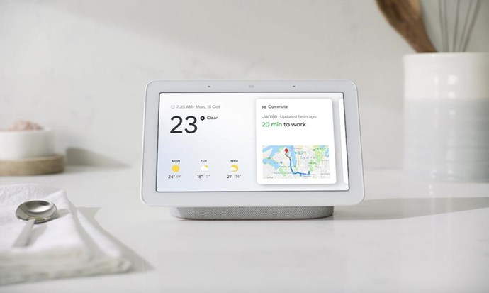 "[Google Home Hub](https://ad.doubleclick.net/ddm/trackclk/N5295.133461.BAUERMEDIA/B21678155.233511794;dc_trk_aid=431305165;dc_trk_cid=91356848;dc_lat=;dc_rdid=;tag_for_child_directed_treatment=;tfua=|target=""_blank""