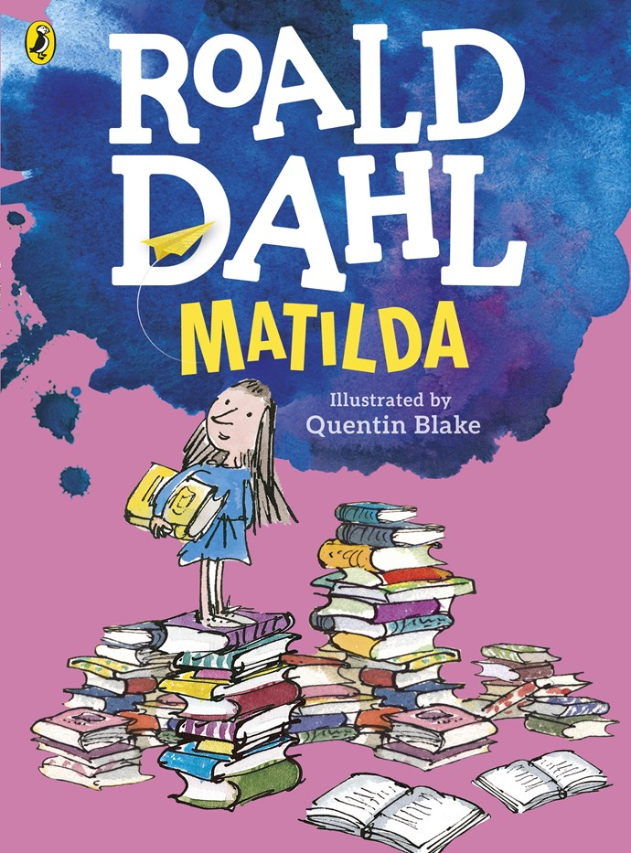*Matilda* is one of Roald Dahl's most well-known books (Image Source: Penguin)
