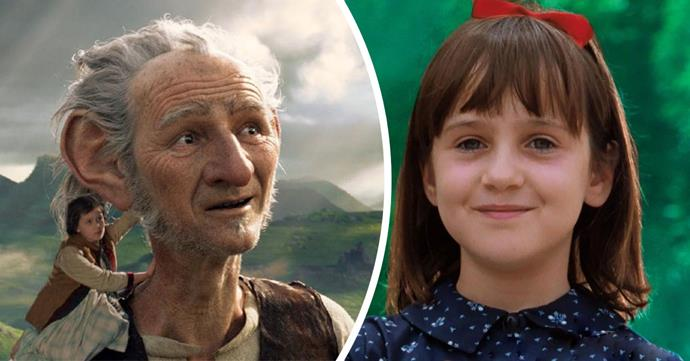 *The BFG* (2016) and *Matilda* (1996)