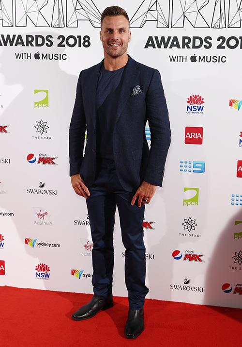 Radio host and former rugby league player Beau Ryan scrubs up rather nicely, don't you think? *(Image: Getty)*