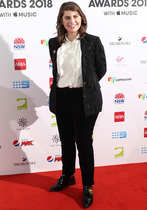 Nominee Alex Lahey is ready for a night of celebrations! *(Image: Getty)*