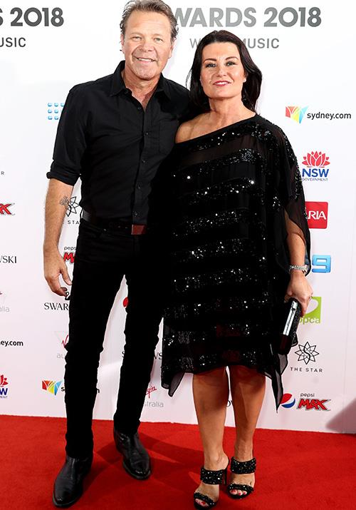 "Country music star Troy Cassar-Daley with his Brisbane radio presenter wife Laurel Edwards. Laurel tells *Now To Love* the secret to their long-standing marriage is all about open lines of communication. ""We all have our ups and downs but open communication is the secret to our success,"" Laurel says. *(Image: Getty)*"