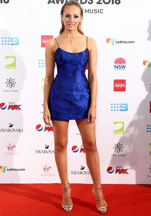 Singer Samantha Jade wins our vote for best dressed! *(Image: Getty)*