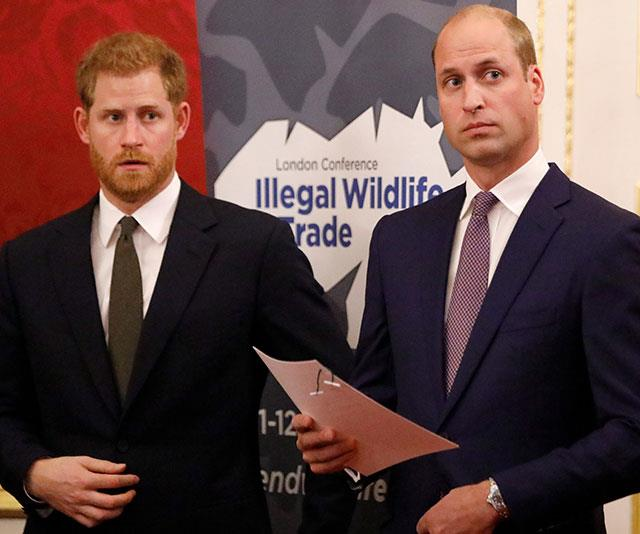 Insiders tell *Vanity Fair* Harry thought William wasn't putting in enough effort with Meghan. *(Image: Getty)*