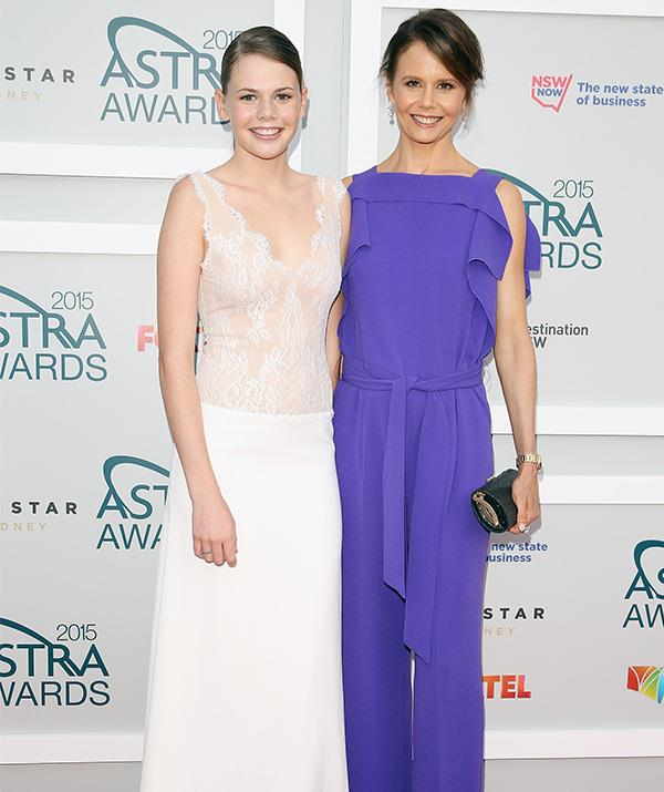 Lucia and mum Antonia look more and more alike by the day! *(Image: Getty)*