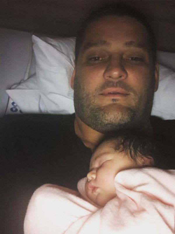 Daddy's little girl. *(Image: Instagram @brendanfevola25)*