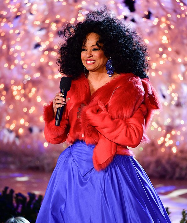 Soul Queen Diana Ross knows how to serve up all those festive feels! *(Image: Getty)*