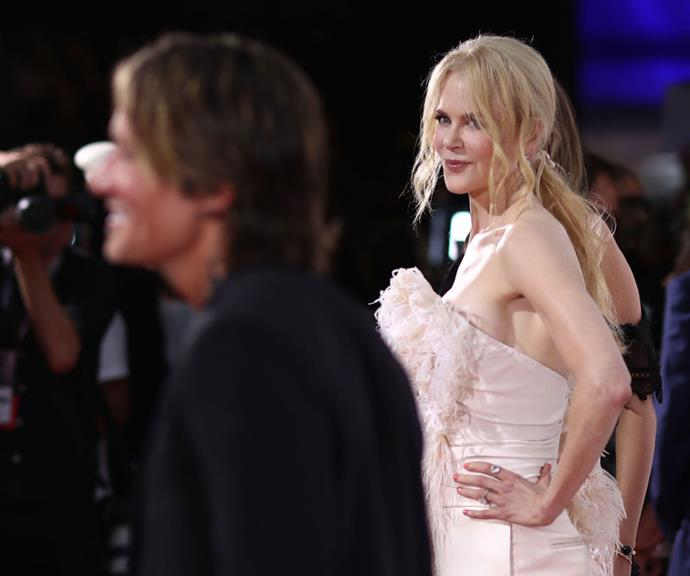 "Nicole Kidman and Keith Urban are the ""golden unicorns"" of the ARIA Awards red carpet. *(Source: Getty)*"