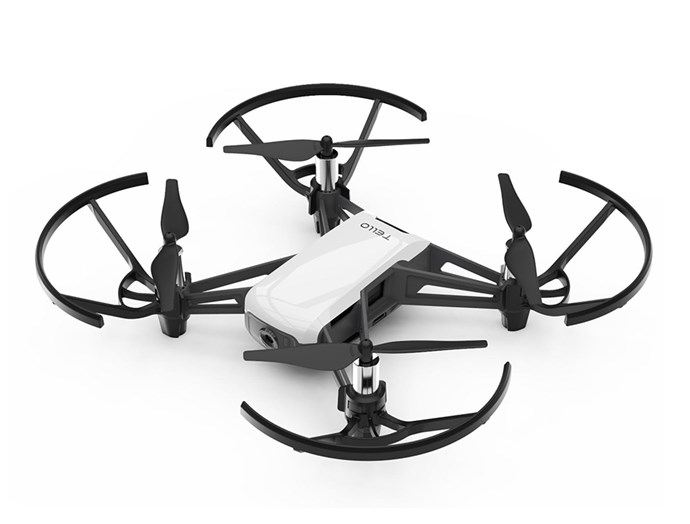 "[Tello drone](https://www.davidjones.com/electrical/top-tech-gifts-and-gadgets/22069276/TELLO-DRONE-WHITE.html|target=""_blank""