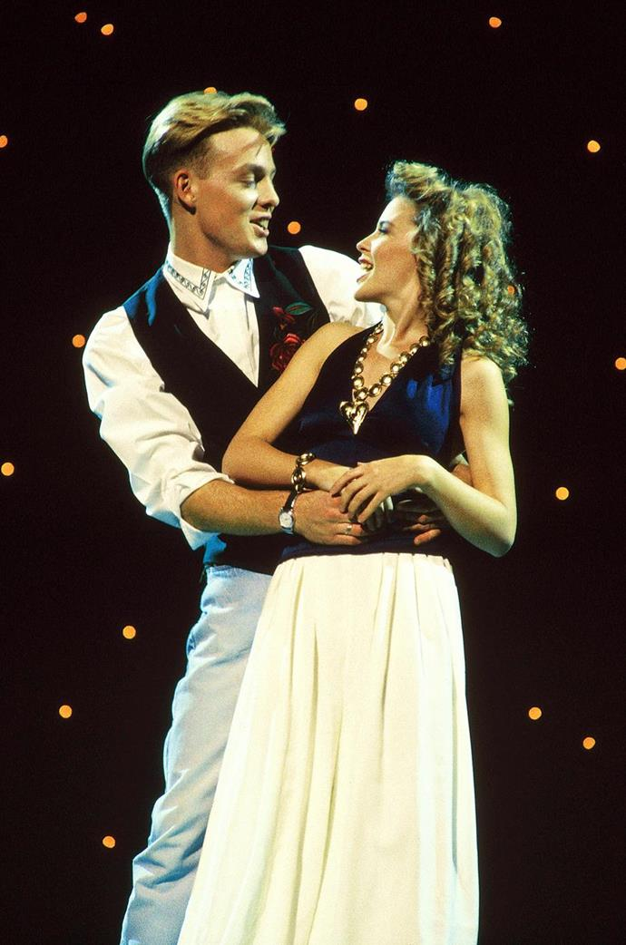 The pair's iconic *Top of the Pops* performance is one for the history books! *(Image: Getty)*