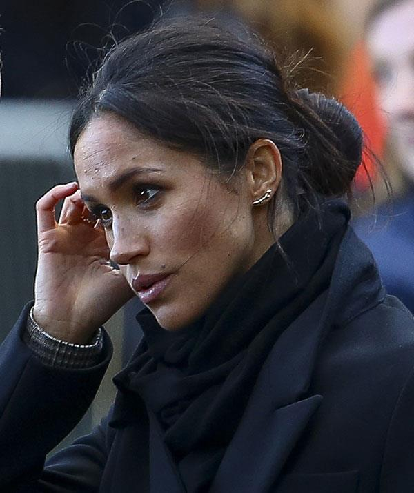The Sussexes vs. the Cambridges: Meghan is a Princess under pressure. *(Image: Getty)*