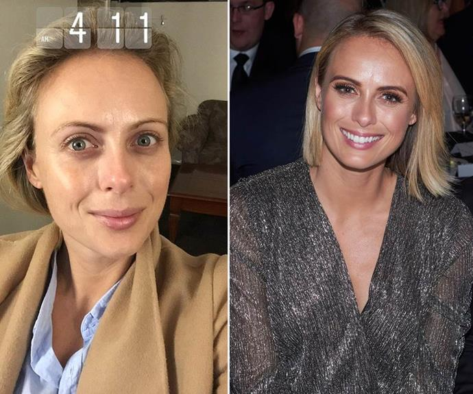 Sylvia Jeffreys has been super real about her makeup transformations in the past!