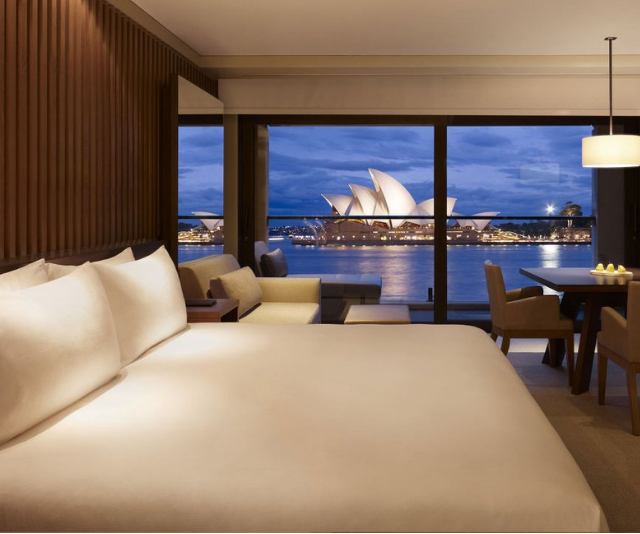 "**Park Hyatt Sydney:** The harbourfront location makes the Park Hyatt a coveted location for exploring Sydney. The Opera view room gives plenty of space for a family to stay too. *Image: [Park Hyatt Sydney](https://www.hyatt.com/en-US/hotel/australia/park-hyatt-sydney/sydph|target=""_blank""