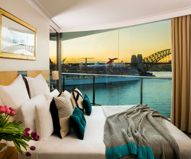 """**Pullman Quay Grand Sydney Harbour:** Want more than a room? The Pullman Quay Grand offers one and two-bedroom apartments that are perfect for family travel. With separate areas for sleeping, dining and lounging, you'll never be tripping over each other here. *Image: [Pullman Quay Grand Sydney Harbour](https://www.pullmanquaygrandsydneyharbour.com/ 
