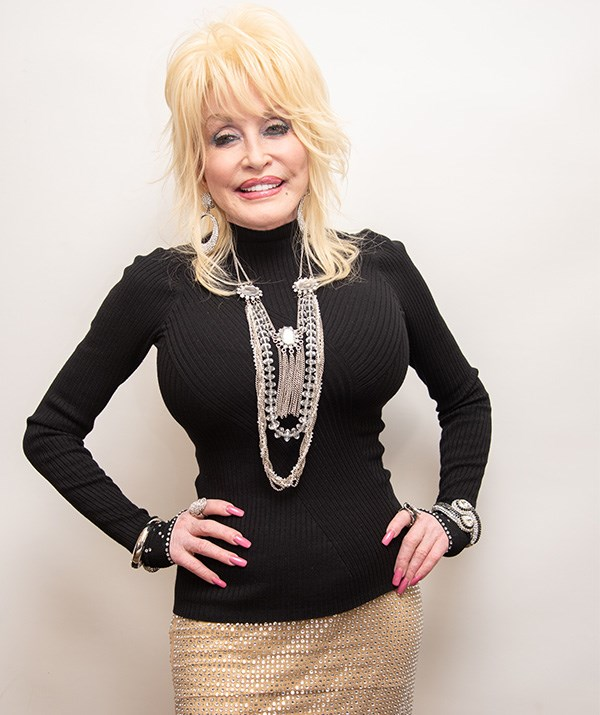 73 and fabulous! Dolly Parton is as glamorous as every. *(Image: Getty)*