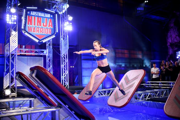 Contestants face great physical challenges on *ANJ.*
