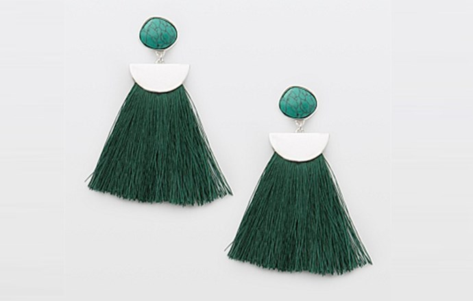 """These stunning, statement earrings will add a pop of colour to any outfit. A thoughtful gift for a stylish friend. <br><br> [Country Road Estelle earrings](https://www.countryroad.com.au/shop/woman/jewellery/earrings/60231947-3655/Estelle-Earring.html