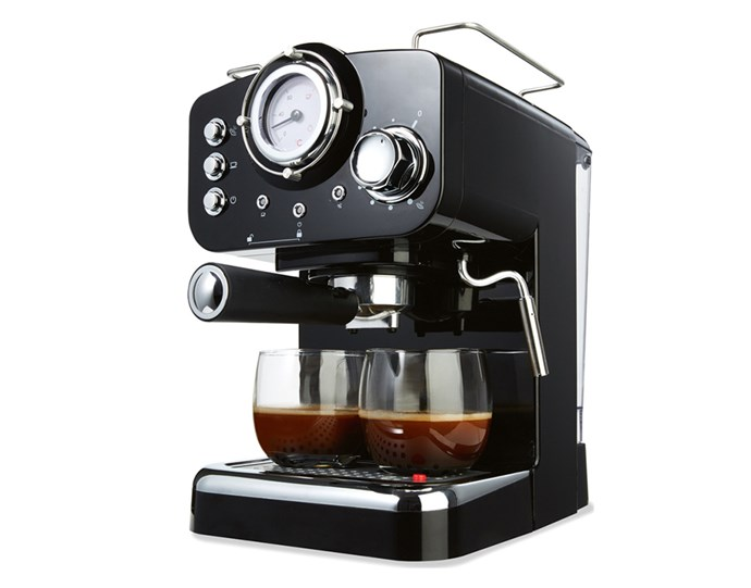 """Save yourself a fortune in 2019 and ditch your morning takeaway in favour of a homemade coffee instead. At just $89, you'll make your money back in no time! Oh, and it makes for a great gift too. <br><br> [Kmart Espresso Coffee Machine](https://www.kmart.com.au/product/espresso-coffee-machine/2184807