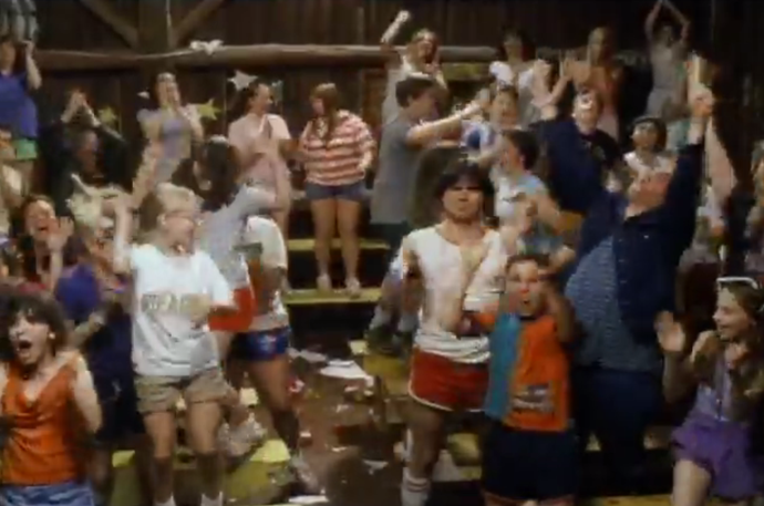 **WET HOT AMERICAN SUMMER (2001)**  <br><br> The wild counsellors of Camp Firewood go rouge for the last day of summer camp, who are all on a mission to make the most of their last day together.