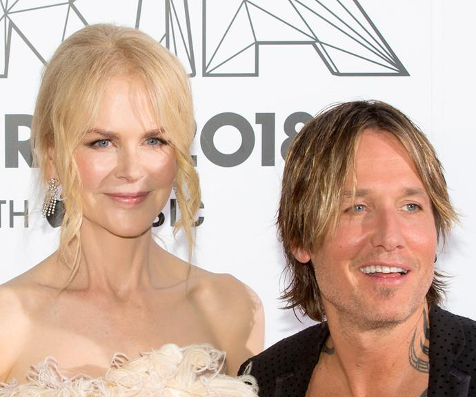 Nicole Kidman and Keith Urban on the red carpet at the ARIA awards. *(Source: Getty)*