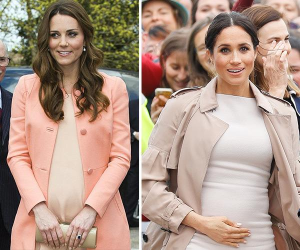 It is believed the sisters-in-law clashed over a bridesmaids fitting, leaving Kate in tears. *(Images: Getty)*