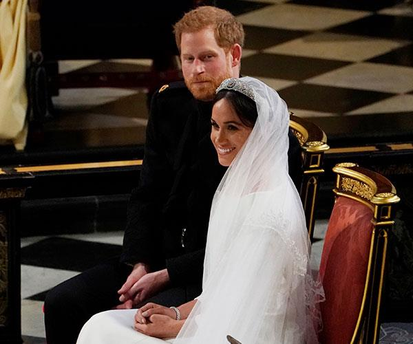 """Meghan put a lot of demands on her and it ended up with her in tears,"" a source claims of the royal bride. *(Image: Getty)*"