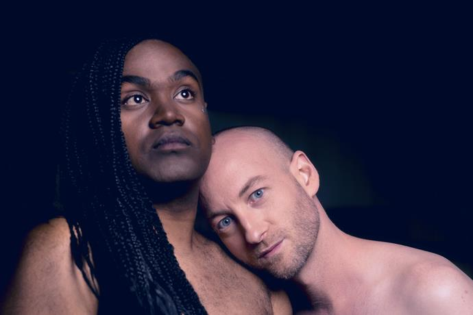 """**Electric Fields**  <br><br> Best friends Zaachariaha Fielding and Michael Ross make up the modern electronic-soul duo Electric Fields. <br><br> """"The *Eurovision Song Contest* is the Olympics of camp! It's a flamboyant spectacle and we're excited to be part of the first ever *Eurovision* selection show on home soil,"""" the pair said in a statement.  <br><br> """"We want to tell a story on stage with fierce energy that will hopefully shoot through the cameras and out of the TV screens at home."""""""