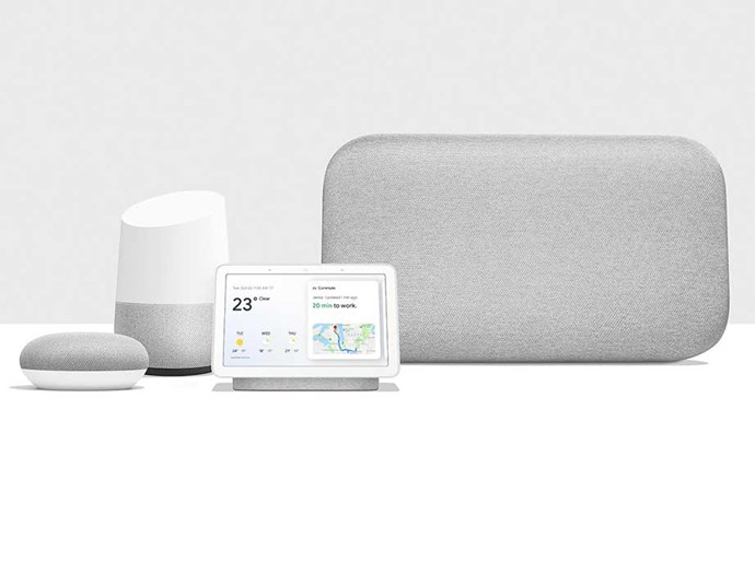 """The new Google Home Hub and family is like having a helping hand — and not just for Christmas, but all year round! It brings you visual help for any moment — perfect for new parents who are constantly juggling; with the Google Assistant built-in you can use your voice to view your calendar, check the weather, control smart devices and play music or videos on YouTube — all hands-free. Plus, with Google Photos you can always view the best and latest photos of the family. The best bit is that with the whole Google Home family (including Google Home, Max and Mini, starting at $49), there's a perfect gift for every person and every budget^. <br><br> [Google Home Hub and family](https://ad.doubleclick.net/ddm/trackclk/N5295.133461.BAUERMEDIA/B21678155.233511803;dc_trk_aid=429069483;dc_trk_cid=91356848;dc_lat=;dc_rdid=;tag_for_child_directed_treatment=;tfua= 