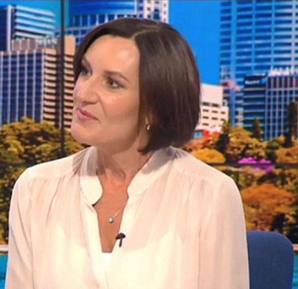 Cass has been very candid about the difficult break up with Karl. *(Image: Studio 10)*