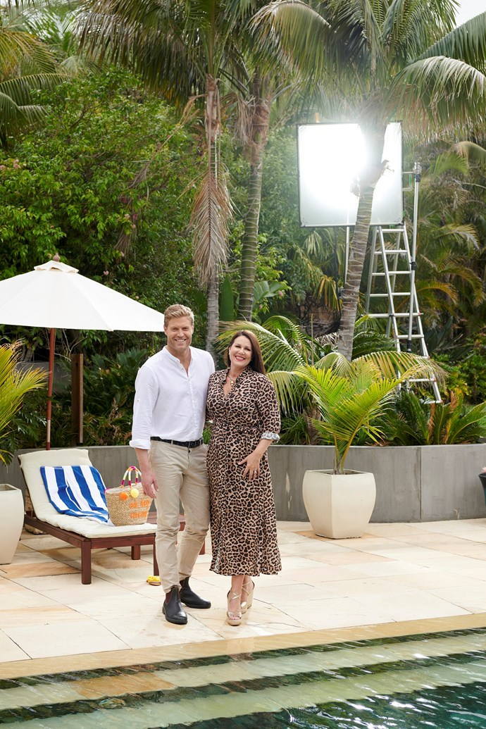 *I'm A Celebrity... Get Me Out Of Here!* has two very glam hosts in Dr Chris Brown and Julia Morris.