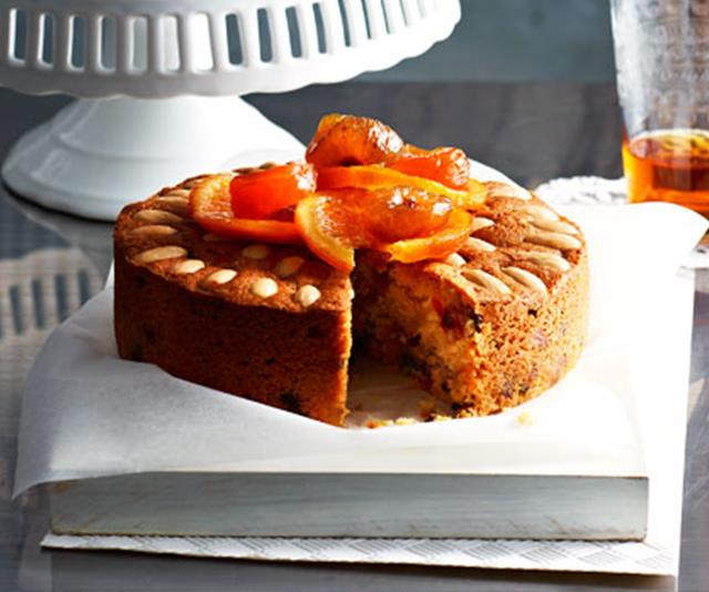 "**Gluten-free glace fruit cakes.** <br><br> Just because you don't eat gluten doesn't mean you have to miss out on Christmas treats - try this delicious glace fruit cake. <br><br> [**Read the full recipe here**](https://www.womensweeklyfood.com.au/recipes/gluten-free-glace-fruit-cakes-20057|target=""_blank"")"