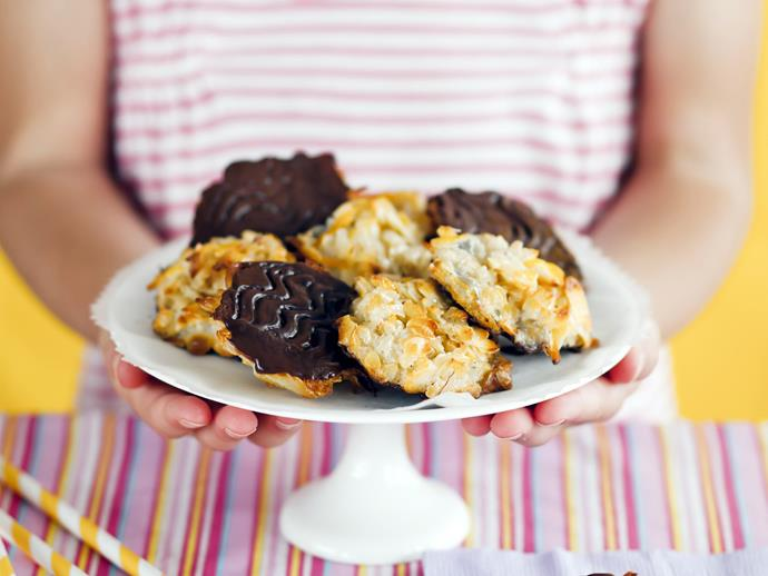 "**Orange and ginger florentines** <br><br> If you're looking for some smaller, easy-to-make treats to have lying around when you're feeling peckish post-Christmas lunch, then these are perfect.  <br><br> [**Read the full recipe here**](https://www.womensweeklyfood.com.au/recipes/orange-and-ginger-florentines-9371|target=""_blank"")"