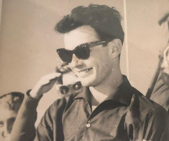 Larry shared a throwback picture of his dad during his hey-day. *(Image: Instagram @larryemdur)*
